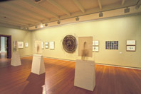 Exhibition of residency artworks at the Geelong gallery
