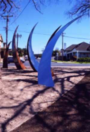 Steel Grass Blades - Western Beach Rd